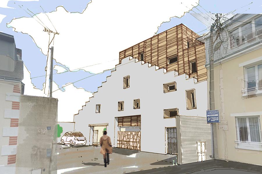 Maison individuelle Gabriel-Luneau - Modus Architecture à Nantes